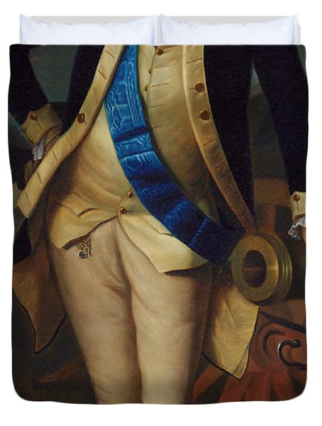 George Washington Duvet Cover by Charles Wilson Peale