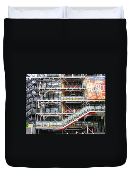 Georges Pompidou Centre Duvet Cover