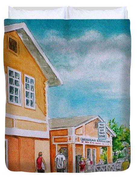 Georgetown Grand Cayman Duvet Cover