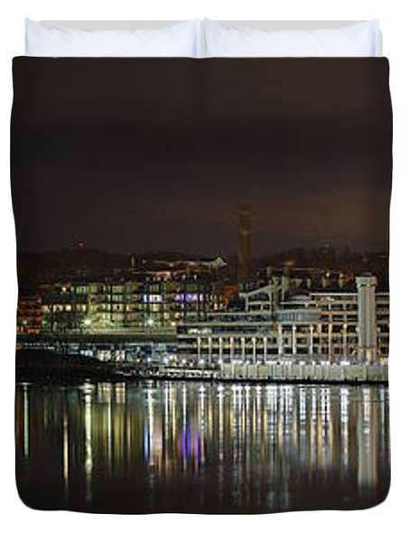 Georgetown Waterfront Duvet Cover
