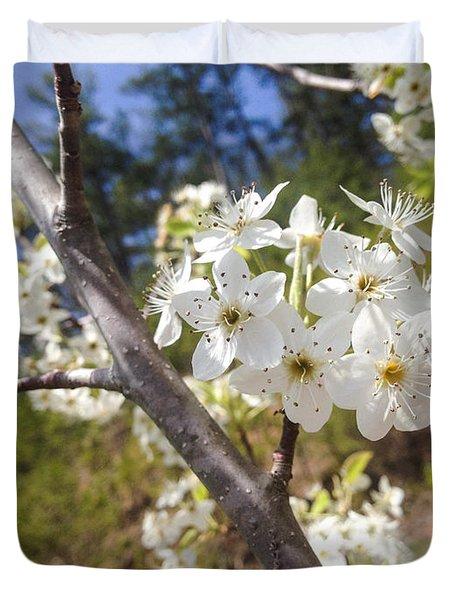 Georgia Blossoms Duvet Cover