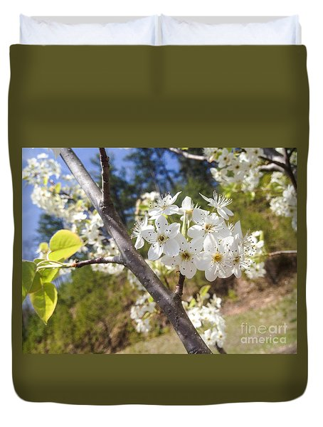 Georgia Blossoms Duvet Cover