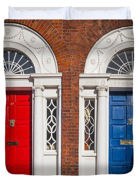Georgian Doors Duvet Cover by Inge Johnsson