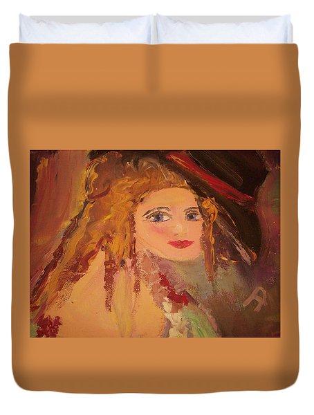 Georgiana Duvet Cover by Judith Desrosiers