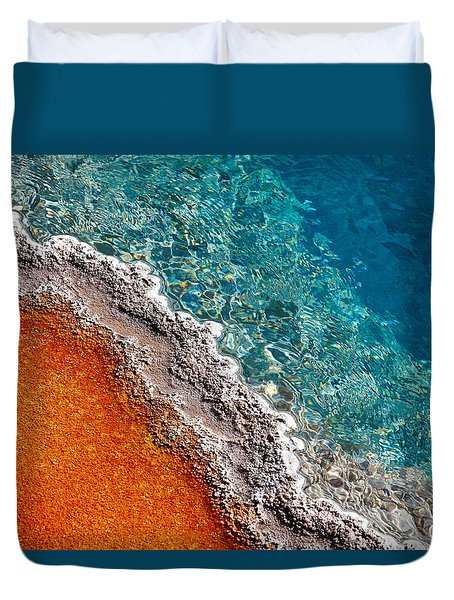 Geothermic Layers Duvet Cover