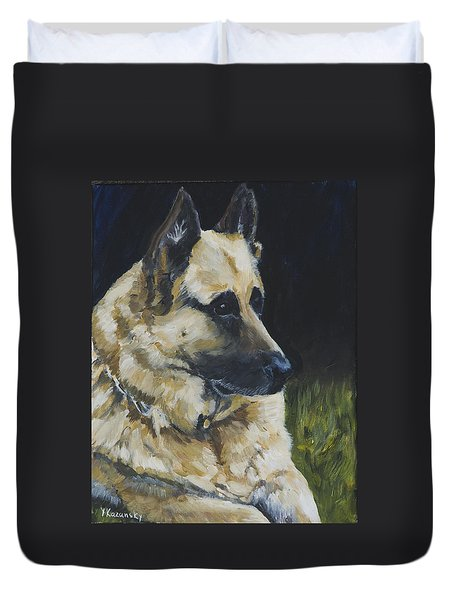 Germain Shepherd Duvet Cover