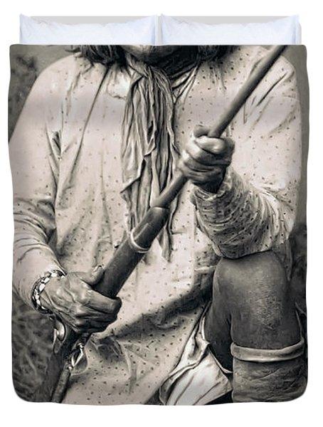 Geronimo - 1886 Duvet Cover