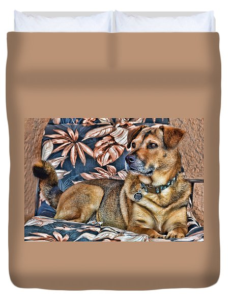 Gerry And The Lounge Chair Duvet Cover