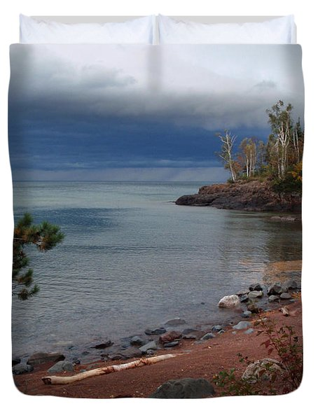 Get Lost In Paradise Duvet Cover