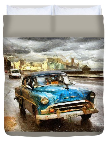 Get Outta My Dreams Get Into My Car Duvet Cover
