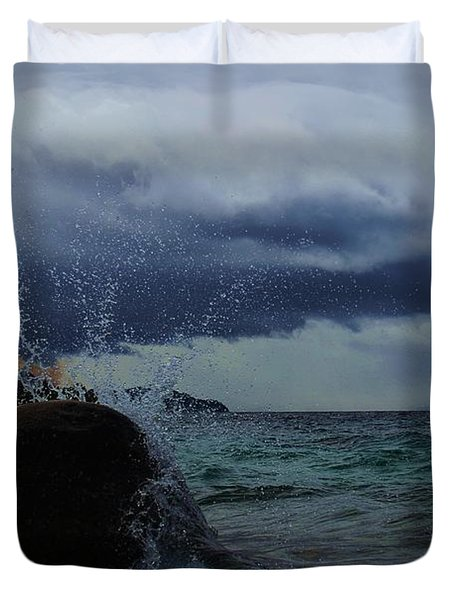 Get Splashed Duvet Cover
