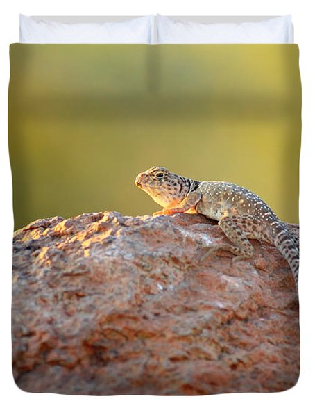 Getting Some Sun Duvet Cover