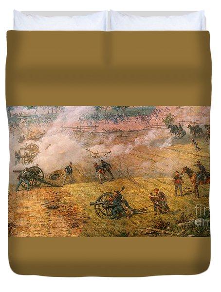 Gettysburg Cyclorama Detail One Duvet Cover