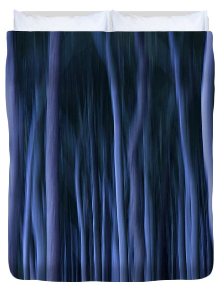 Ghost Forest Duvet Cover by Heiko Koehrer-Wagner