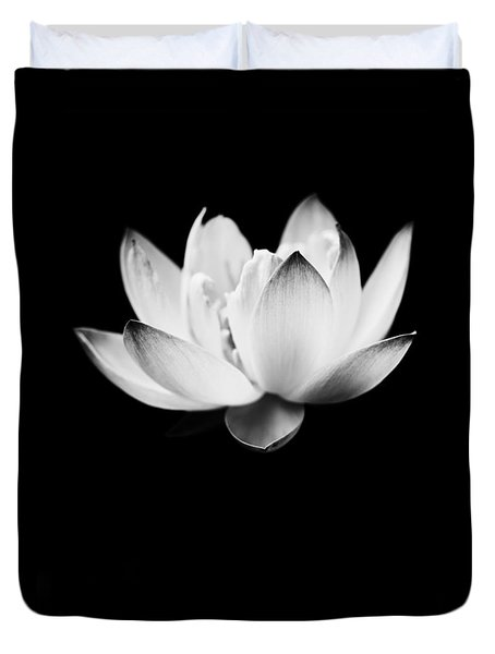 Ghost Lotus Duvet Cover