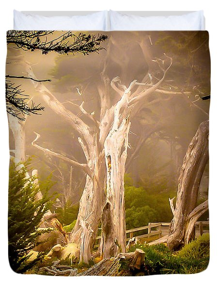 Ghost Tree Duvet Cover