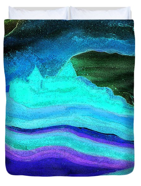 Ghostly Castle By Jrr Duvet Cover by First Star Art