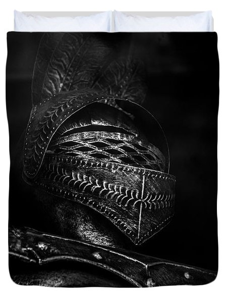 Ghostly Knight Duvet Cover