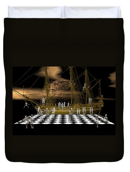 Ghostship Gala 2 Duvet Cover