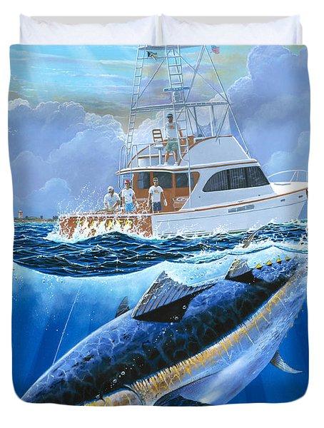 Giant Bluefin Off00130 Duvet Cover