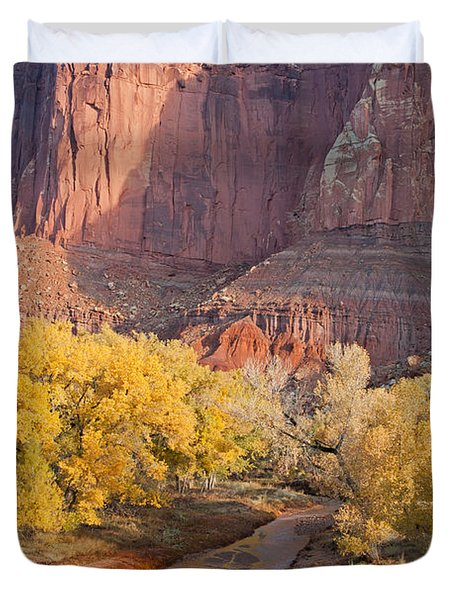 Gifford Farm Capitol Reef National Park Duvet Cover