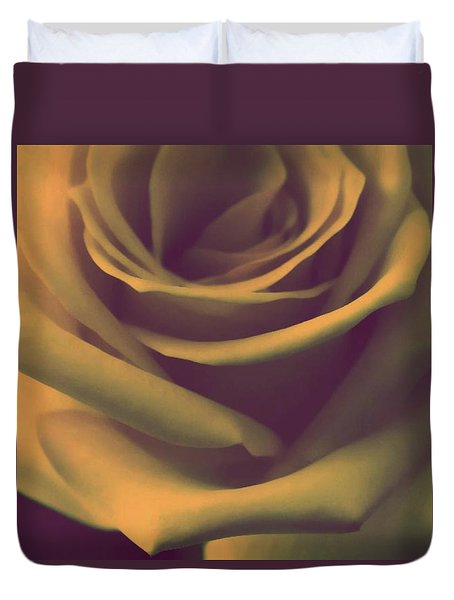 Gift Of Gold Duvet Cover by The Art Of Marilyn Ridoutt-Greene