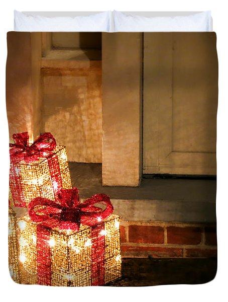 Gift Of Lights Duvet Cover