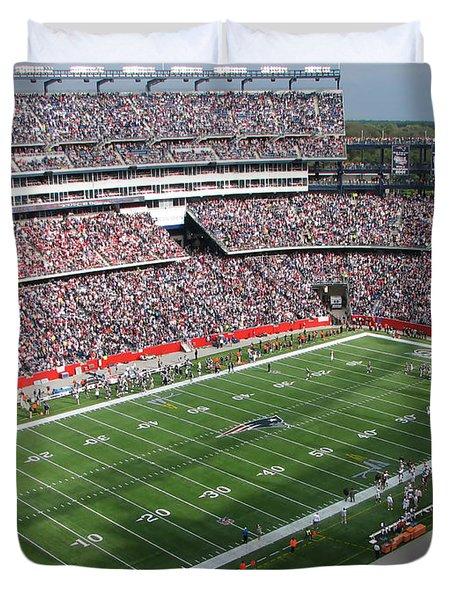 Gillette Stadium Duvet Cover