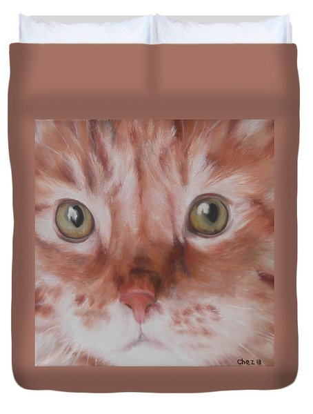 Ginger Duvet Cover by Cherise Foster