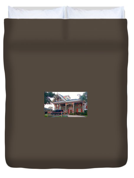 Gingerbread House - Metairie La Duvet Cover