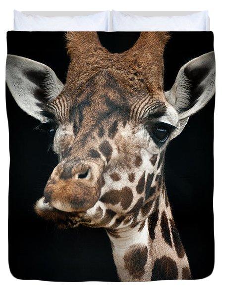 Giraffe Duvet Cover