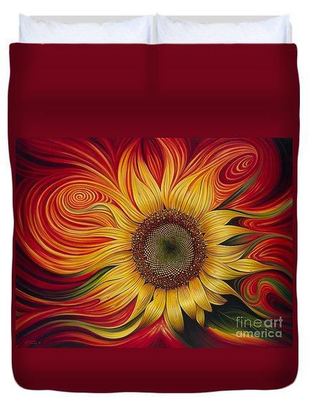 Girasol Dinamico Duvet Cover