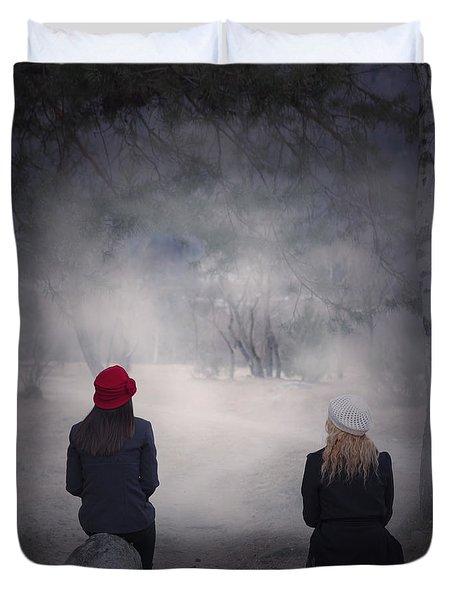 Girlfriends Duvet Cover by Joana Kruse