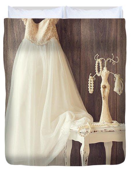 Girl's Bedroom Duvet Cover by Amanda Elwell