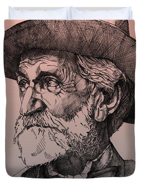 Giuseppe Verdi Duvet Cover by Derrick Higgins