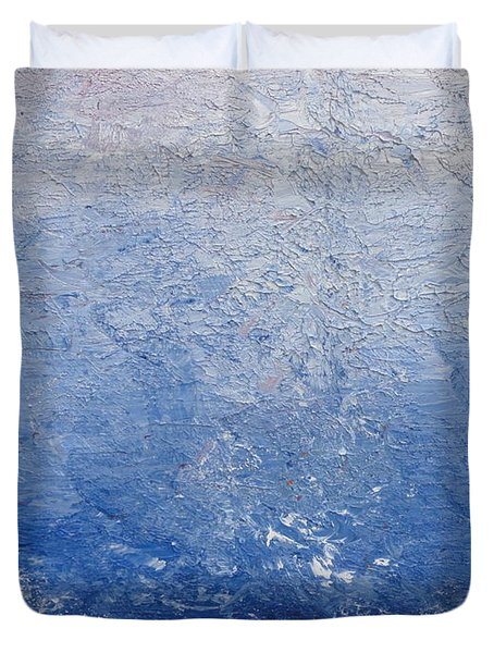 Give Up The Ghost Duvet Cover by Shannon Grissom