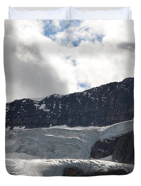Glacial Mountain Duvet Cover by Cheryl Miller