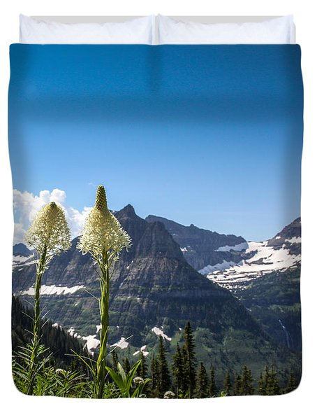 Glacier Grass Duvet Cover