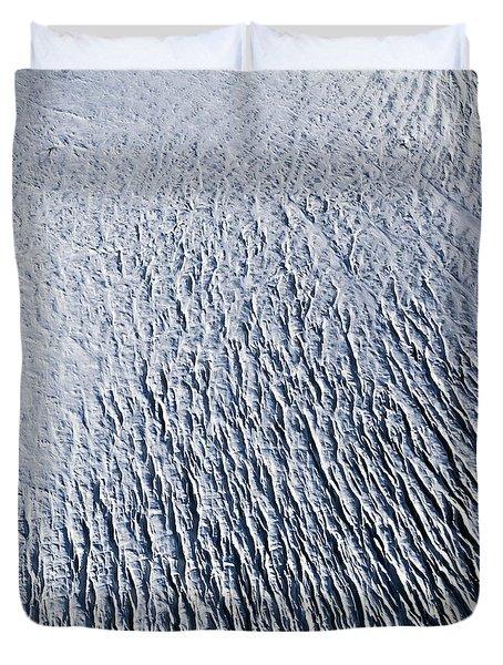 Duvet Cover featuring the photograph Glacier by Gunnar Orn Arnason