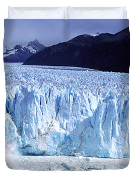Glacier, Moreno Glacier, Argentine Duvet Cover