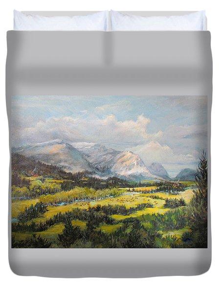 Glacier Splendor Duvet Cover
