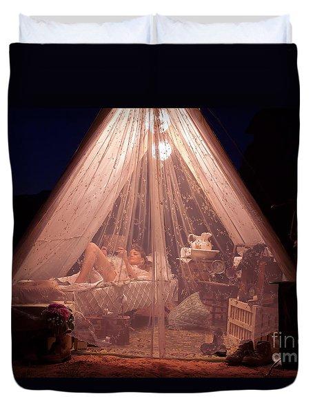 Glamping Duvet Cover