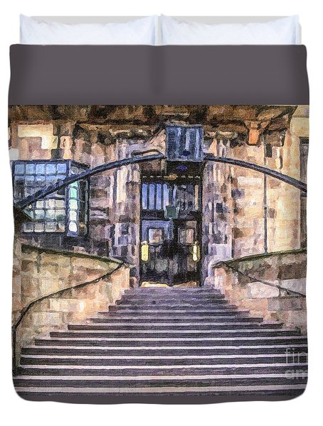 Glasgow School Of Art Duvet Cover
