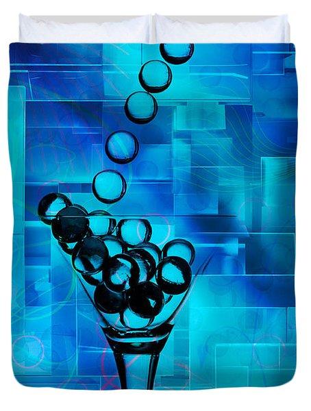 Glass Balls Duvet Cover by Mauro Celotti