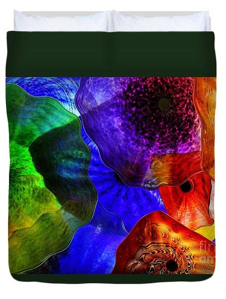 Glass Palette Duvet Cover