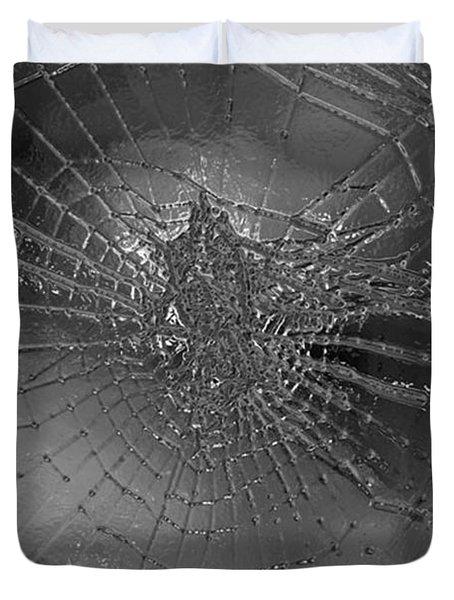 Glass Spider Duvet Cover by Carol Lynch