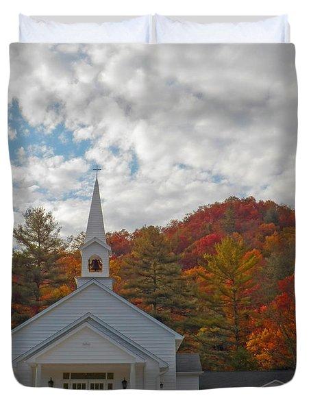 Glenville In Autumn  Duvet Cover