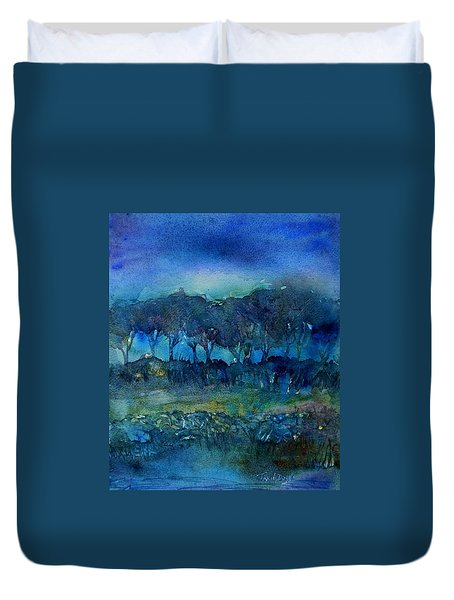 Glimmer Of Dawn  Duvet Cover by Trudi Doyle