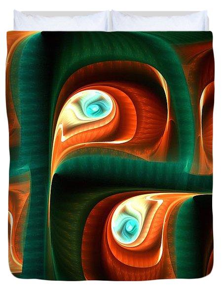 Glimpses Duvet Cover by Anastasiya Malakhova