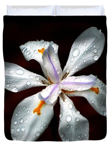Glisten Duvet Cover by Angela Murray